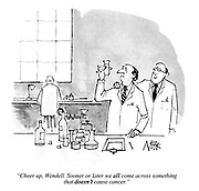 """""""Cheer up, Wendell. Sooner or later we ALL come across something that DOESN'T cause cancer."""""""