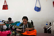 A small factory making dolls and bags on the island Atauro.<br /> Atauro is an island with 10.000 inhabitants belonging to the state of Timor Leste, 25 km north of the capital Dili. Timor Leste gained independence from Indonesia in May 2002.