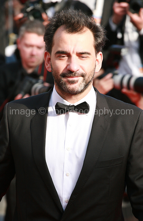 Pablo Trapero at Sils Maria gala screening red carpet at the 67th Cannes Film Festival France. Friday 23rd May 2014 in Cannes Film Festival, France.