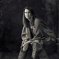 Sitting portrait of a woman.