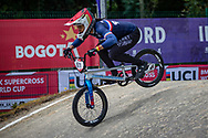 2021 UCI BMXSX World Cup<br /> Round 3 and 4 at Bogota (Colombia)<br /> Friday Practice<br /> ^we#971 VALENTINO, Manon (FRA, WE) Sunn, Kenny, 100%