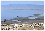 The Great Salt Lake, Utah, USA