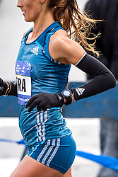 NYC Marathon, Sara Moreira, 29, Portugal, showed her versatility as a runner to contend for the win in her first marathon. European indoor champs at 3000 meters last year, she ran the steeplechase and the 10000 meters on the track in the last two Olympics