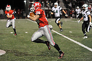 Columbia at Huron varsity football on November 18, 2014. Images © David Richard and may not be copied, posted, published or printed without permission.