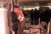 JIM MARTELL; LIZ BREWER, Hubert de Vinols hosts the launch of Tables D'Exception, Rolls Royce Showroom,  Berkeley Sq. London. 29 November 2018