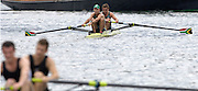 2005 Henley Royal Regatta, Henley on Thames, ENGLAND. 30.06.2005 Heat of the Silver Goblets and Nichalls' Challenge Cup,[ Left] Donavan Cech [left] and Ramone Di Clemente, Trident Rowing Club,  South Africa, paddle home to win their heat, beating Molesey Boat Club, on the second day of the 2005 Henley Royal Regatta. Photo  Peter Spurrier. .email images@intersport-images..[Mandatory Credit Peter Spurrier/ Intersport Images] . HRR.