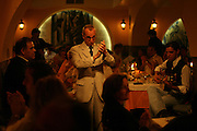 """""""Faia""""  is one of most famous restaurants were to see live perfomances of Fado music. It was founded in 1947 by Lucilia do Carmo, one of the legendary woman Fado singers."""
