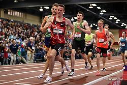 2020 USATF Indoor Championship<br /> Albuquerque, NM 2020-02-15<br /> photo credit: © 2020 Kevin Morris<br /> mens 1500m, Bowerman TC, Nike