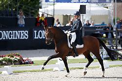 D Hoore Brecht, BEL, Favian Wh<br /> Longines FEI/WBFSH World Breeding Dressage Championships for Young Horses - Ermelo 2017<br /> © Hippo Foto - Dirk Caremans<br /> 03/08/2017