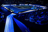 General arena view during day four of the Barclays ATP World Tour Finals at the O2 Arena, London, United Kingdom on 16 November 2016. Photo by Martin Cole.