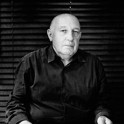 "Photographer Raymond Depardon presenting ""la vie moderne"" at the Cannes Film Festival 2008, France. Photo: Antoine Doyen"