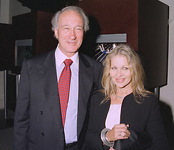 LORD & LADY WEINBERG, she is the designer Anouska Hempel, at a party in London on 17th September 1997.MBG 23