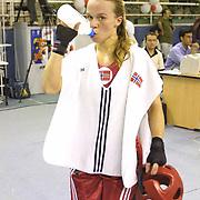 2. WOMEN'S WORLD BOXING CHAMPIONSHIPS.<br /> Norway's Kitel Henrite (C) winner silver medal. Dilek Sabanci Sport Hall Antalya/Turkey<br /> Photo by Aykut AKICI/TurkSporFoto