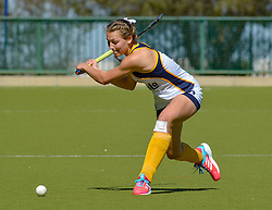 Danine Retief of Oranje during day one of the FNB Private Wealth Super 12 Hockey Tournament held at Oranje Meisieskool in Bloemfontein, South Africa on the 6th August 2016<br /> <br /> Photo by:   Frikkie Kapp / Real Time Images