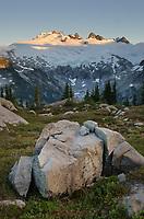 Mount Challenger elevation: 8236 ft / 2510 m North Cascades National Park