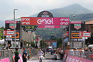 Preparations at the finish during stage 17 of the Giro D'Italia, Iseo Italy on 23 May 2018. Picture by Graham Holt.
