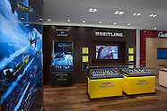 Breitling, Cartier, & LeVian Retail Display Photography