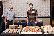 BARLEY, Hordeum vulgare Showcase: 'Karma', #STRKR, #BUCK, OSU Malt #1, Black Beaut, Meints breeding selection 3-32-OCOLOR Breeders: Pat Hayes, Oregon State University and Brigid Meints, Washington State University<br />Chef: Dillon Debauche, Little T Baker<br />Dish: Country Loaf with 45% barley