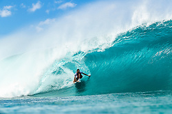 December 16, 2018 - Pupukea, Hawaii, U.S. - Frederico Morais (PRT) is eliminated from the 2018 Billabong Pipe Masters with an equal 25 finish after placing second in Heat 11 of Round 2. (Credit Image: © Kelly Cestari/WSL via ZUMA Wire)