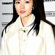 Sinyu Siu is a Fashion loving blogger, fashionista attend the Fashion Scout - SS19 - London Fashion Week - Day 1, London, UK. 14 September 2018.