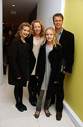 ANDREW CASTLE and his wife SOPHIA with their children, left GEORGINA and right CLAUDIA at the English National Ballet's Mad Hatters Tea Party at St.Martins Lane Hotel, St Martins Lane, London on 12th December 2006.<br /><br />NON EXCLUSIVE - WORLD RIGHTS