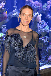 TIPHAINE DE LUSSY at a dinner hosted by Creme de la Mer to celebrate the launch of Genaissance de la Mer The Serum Essence held at Sexy Fish, Berkeley Square, London on 21st January 2016.