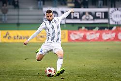 Nino Kouter of NŠ Mura during football match between NŠ Mura and NK Celje in 18th Round of Prva liga Telekom Slovenije 2018/19, on December 2, 2018 in Fazanerija, Murska Sobota, Slovenia. Photo by Blaž Weindorfer / Sportida