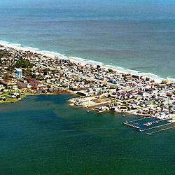 Aerial photograph of Rehobeth Beach Delaware