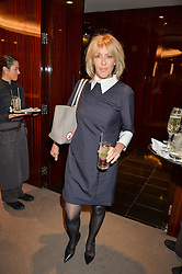 LADY COSIMA SOMERSET at a ladies lunch in aid of the charity Child Bereavement UK held at The Bulgari Hotel, 171 Knightsbridge, London on 25th February 2016.