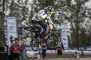 #21 (REYNOLDS Lauren) AUS at the 2014 UCI BMX Supercross World Cup in Santiago Del Estero, Argentina.