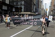 Marchers for Queers against Israeli Apartheid.