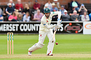 Ed Barnard of Worcestershire batting during the Specsavers County Champ Div 1 match between Somerset County Cricket Club and Worcestershire County Cricket Club at the Cooper Associates County Ground, Taunton, United Kingdom on 22 April 2018. Picture by Graham Hunt.