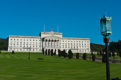 The Northern Ireland Parliament Building at Stormont, Belfast<br /> <br /> (c) Andrew Wilson | Edinburgh Elite media