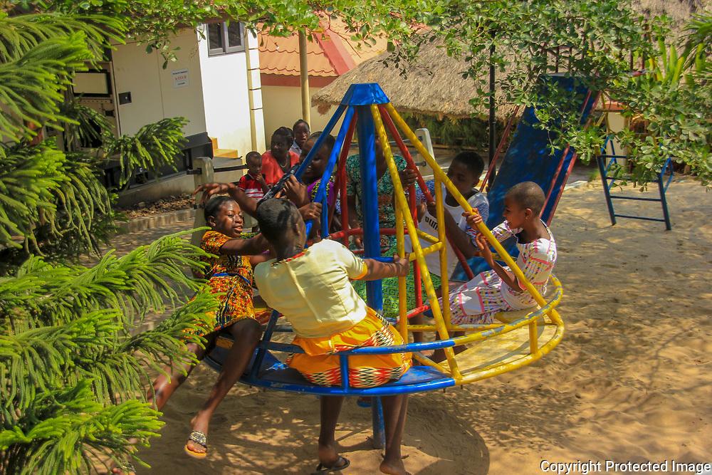 On the Playground by Mavis Daisy Apawu