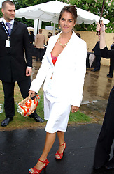 Artist TRACEY EMIN at the annual Serpentine Gallery Summer Party co-hosted by Jimmy Choo shoes held at the Serpentine Gallery, Kensington Gardens, London on 30th June 2005.<br /><br />NON EXCLUSIVE - WORLD RIGHTS