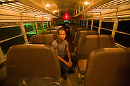 XX, bus driver, he takes care of 12 buses. Education is highly developed here in Costa Rica, being the best in all central and latin america