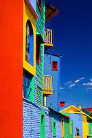 Colorful buildings of Caminito in La Boca, Buenos Aires, Argentina