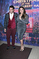 Jeremy Parisi and Kelly Brook, Emma Bunton's Christmas Party, Royal Albert Hall, London, UK, 06 December 2019, Photo by Richard Goldschmidt