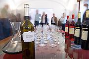 Wine tasting. Herdade das Servas Reserva 2003. Herdade das Servas, Estremoz, Alentejo, Portugal