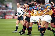 Mark Hammett, Canterbury Crusaders v Waikato Chiefs, Super 12 rugby union, Lancaster Park, Christchurch, 26 February 1999. © Copyright Photo: www.photosport.nz