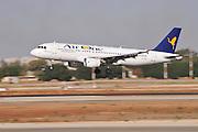 Israel, Ben-Gurion international Airport Air One Airbus A320-216