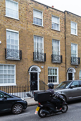 17 Cadogan Street, where, the owner of bottom flat interior designer Olivia Walton dug out a basement causing the upper flat floor to shift and walls to crack. <br /> <br /> A surveyor awarded the upstairs owner £113,000 under the party wall act in April 2018 and Walton whose father is worth £50 million and whose flat is worth £3.5 million has only offered to pay upstairs owner Michele Napp £1500 a month, which will take 6 years. London, September 11 2018.