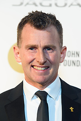 Nigel Owens pictured backstage at the Attitude Awards, where he won won the Hero award, at the Roundhouse in North London. Picture date: Thursday October 12th, 2017. Photo credit should read: Matt Crossick/ EMPICS Entertainment.