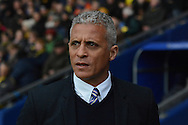 Carlisle United manager Keith Curle during the Sky Bet League 2 match between Oxford United and Carlisle United at the Kassam Stadium, Oxford, England on 12 December 2015. Photo by Alan Franklin.