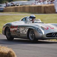 #658 Mercedes-Benz 300 SLR, 1955, 3-litre, 8-cylinder, Goodwood Festival of Speed 2015