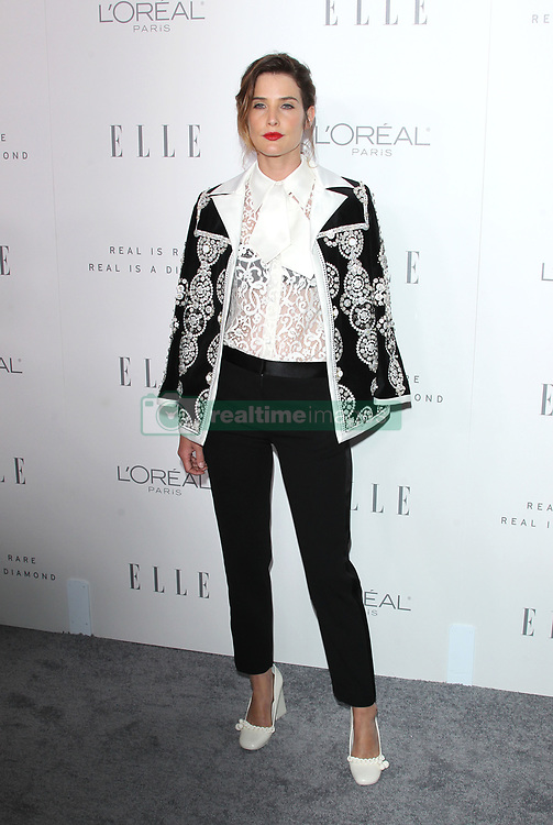 Elle Women in Hollywood Awards - Los Angeles. 16 Oct 2017 Pictured: Cobie Smulders. Photo credit: Jaxon / MEGA TheMegaAgency.com +1 888 505 6342