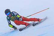 SOELDEN, AUSTRIA. OCTOBER 17 2020:  1st Women's Giant Slalom as part of the Alpine Ski World Cup in Solden on October 17, 2020; Run 1, Ekaterina Tkachenko (RUS) ( Pierre Teyssot/ESPA Images-Image of Sport)