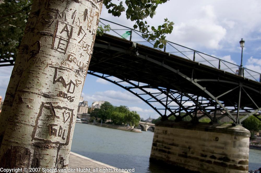 Along the Seine, Paris, France