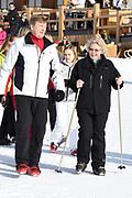 Fotosessie met de koninklijke familie in Lech /// Photoshoot with the Dutch royal family in Lech .<br /> <br /> Op de foto/ On the photo: Koning Willem Alexander en Prinses Beatrix ///// King Willem Alexander and Princess Beatrix
