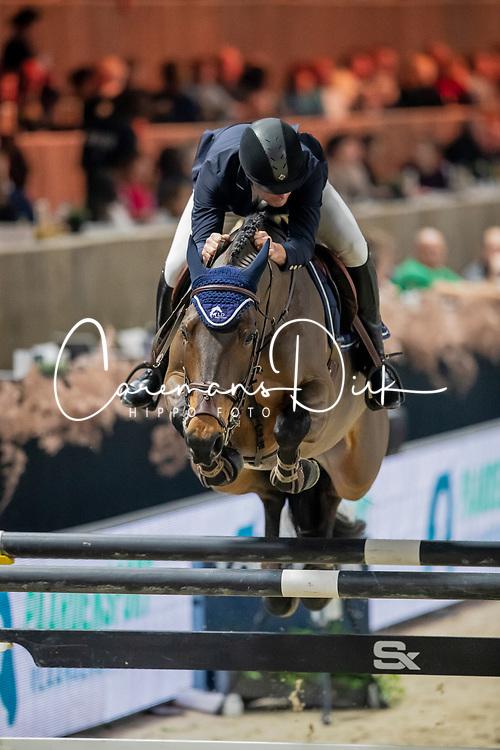 Lannoo Davy, BEL, Jolie Van De Bekemolen<br /> Jumping Mechelen 2019<br /> © Hippo Foto - Dirk Caremans<br />  26/12/2019
